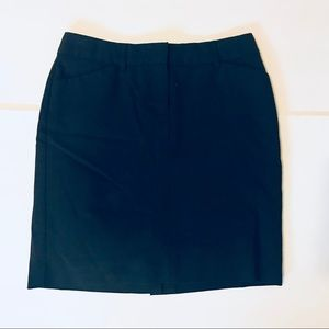 Express Design Studio Black Pencil Skirt